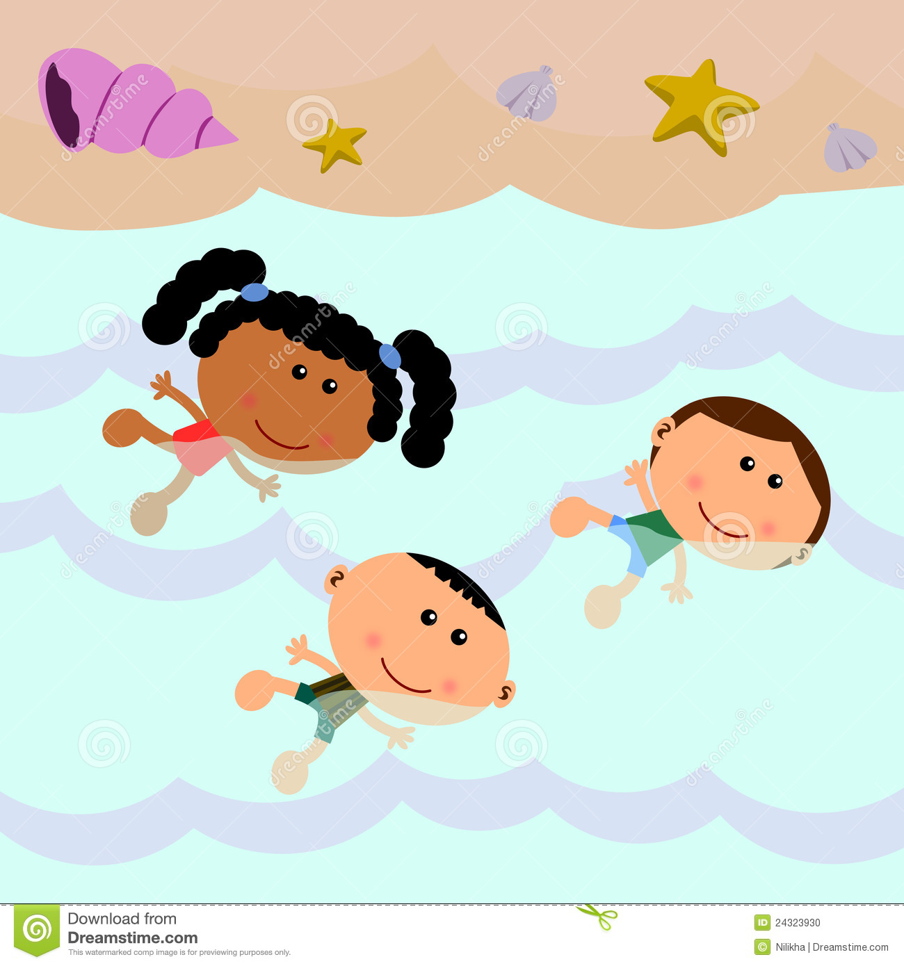 1300x1390 Kids Swimming Clipart Group