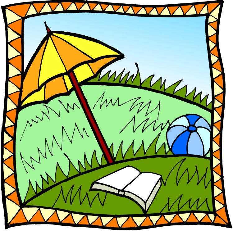 750x744 Group Of Summer Reading Clip Art