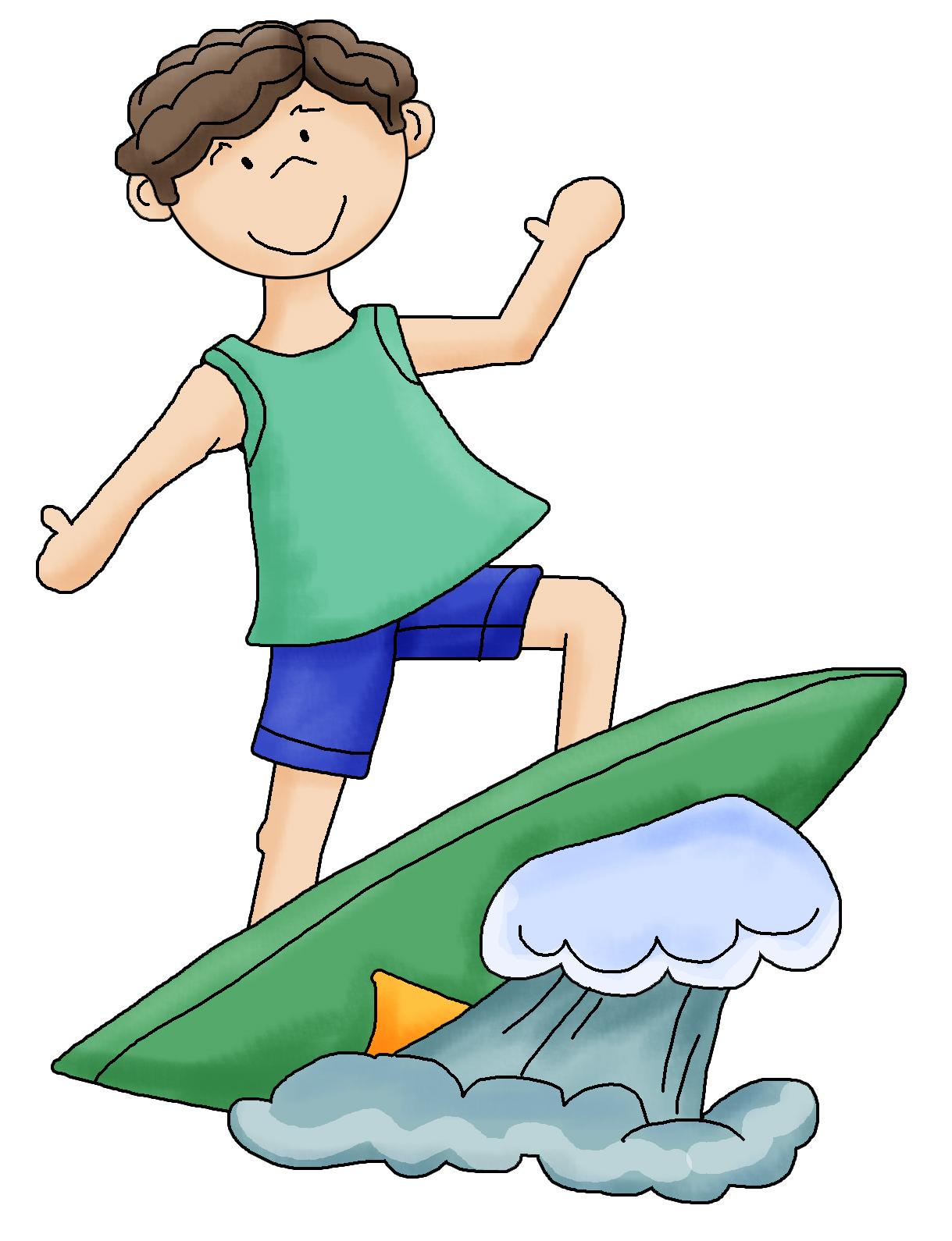1219x1590 Beach Clipart Surfer