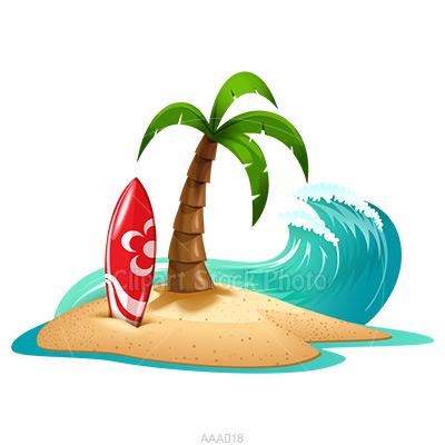 400x400 Beach Party Clipart Group