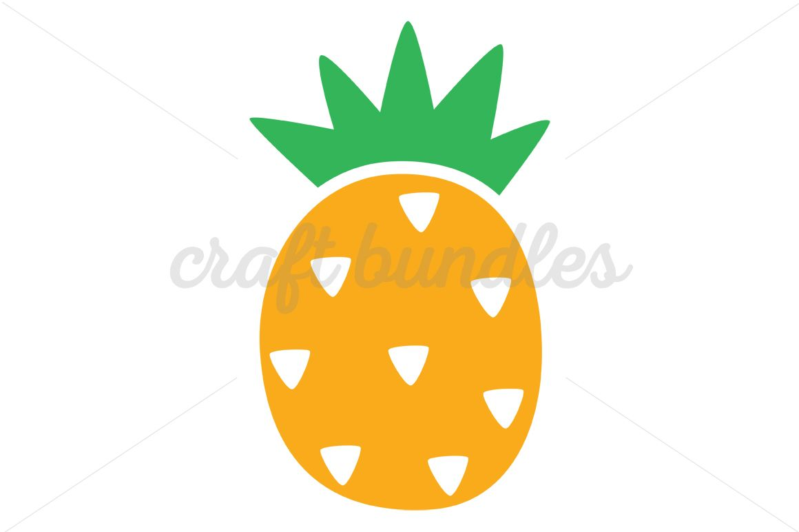 1160x772 Pineapple Svg Cut File Summer Clipart, Filing And Cutting Files
