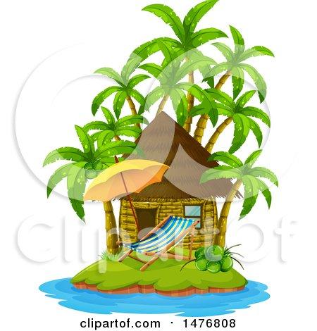 450x470 Royalty Free (Rf) Beach House Clipart, Illustrations, Vector