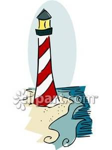 225x300 Lighthouse Clipart Black And White