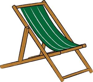 300x263 Beach Chair Clipart
