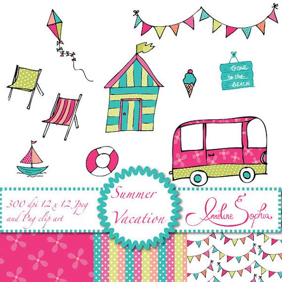 570x570 Summer Vacation Clipart Summer Clipart Beach Clipart Beach Hut