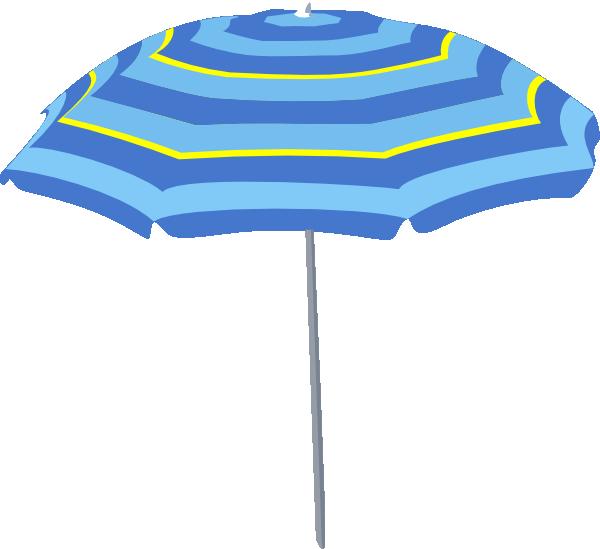 600x549 Beach Umbrella Clipart Clipartlook