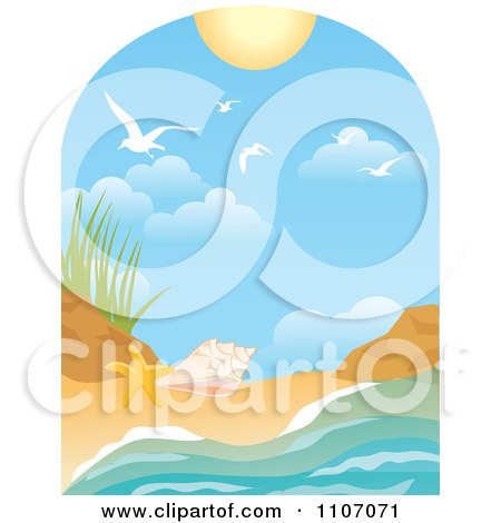 450x470 Royalty Free (Rf) Beach Clipart, Illustrations, Vector Graphics