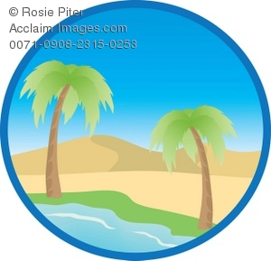 300x289 Desert Island Scene Clipart Amp Stock Photography Acclaim Images