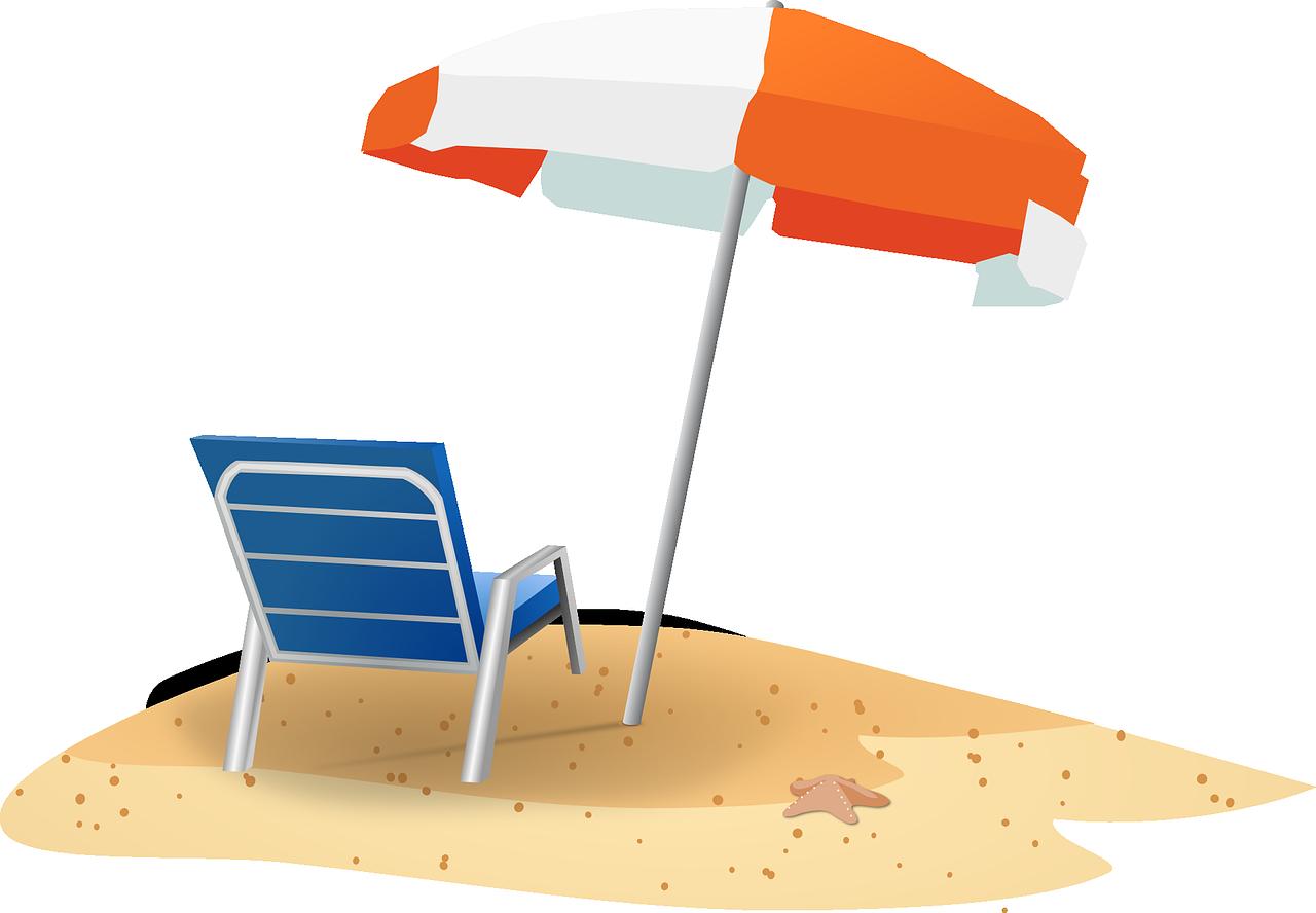 1280x888 Beach Scene Clipart