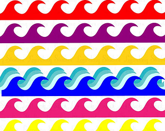 340x270 Free Waves Clip Art Pictures