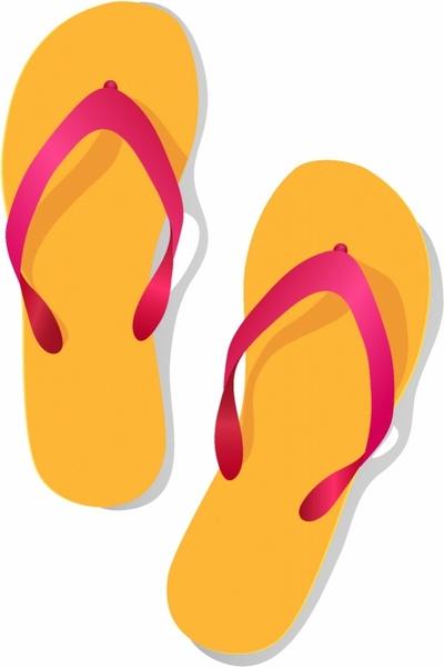 400x600 Sandal Clipart Beach Theme