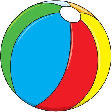 390x390 Awesome Beach Ball Clipart