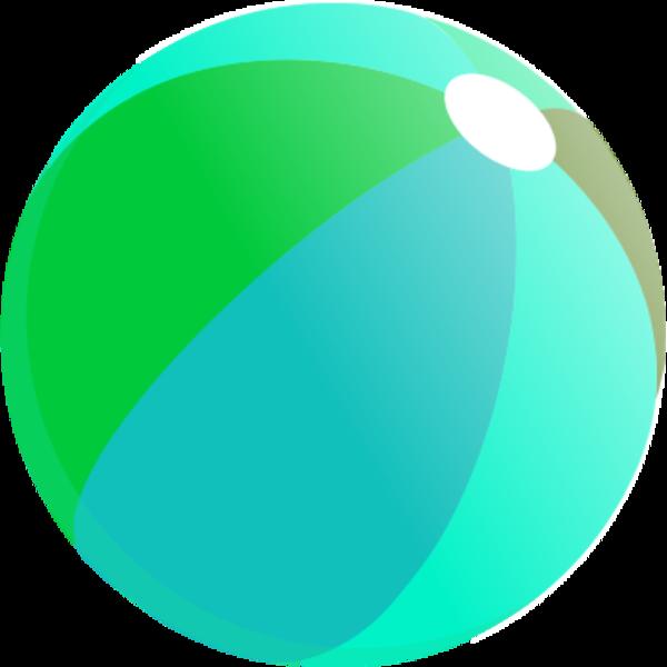 600x600 56 Free Beach Ball Clip Art