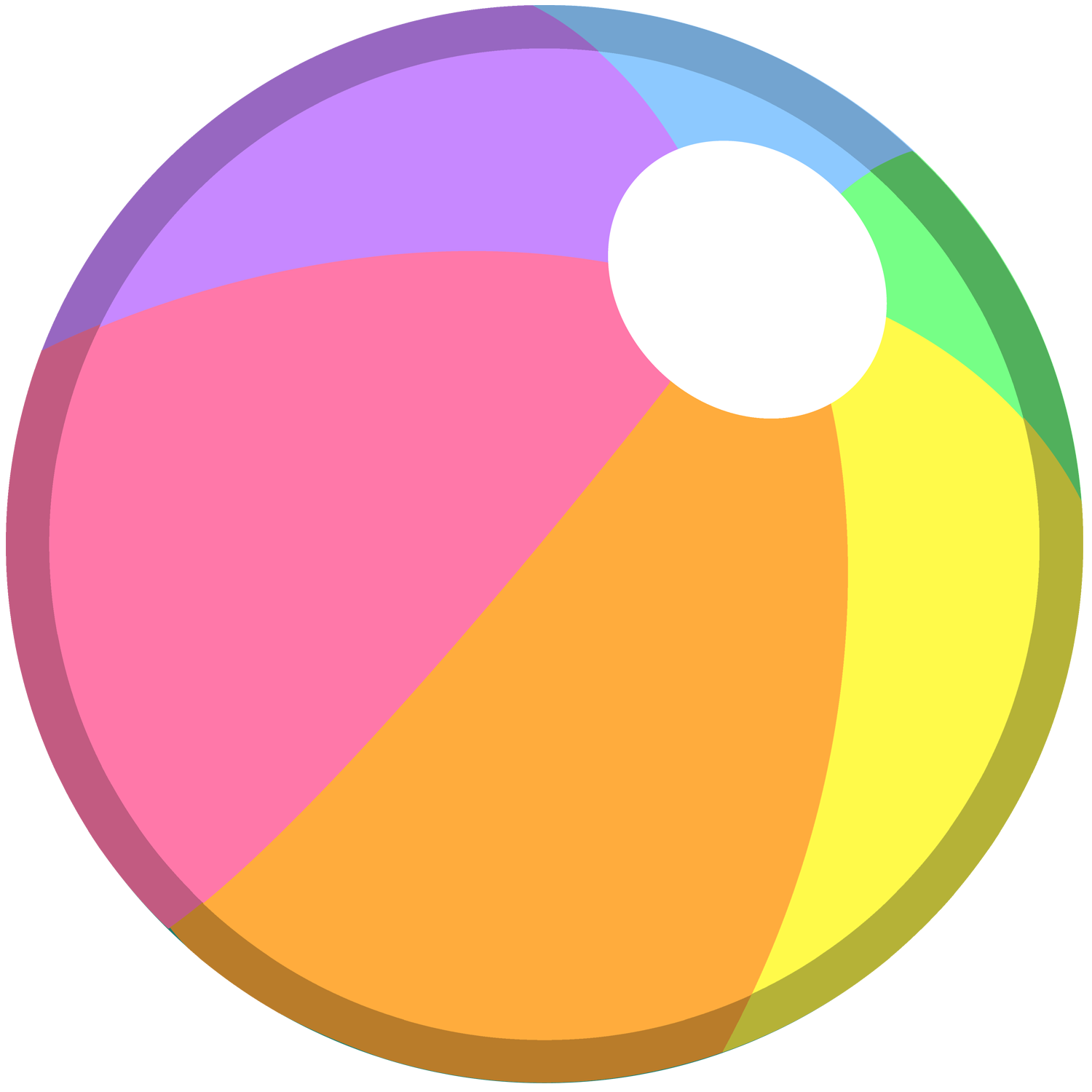 1500x1500 Beach Ball Png Transparent Images Png All