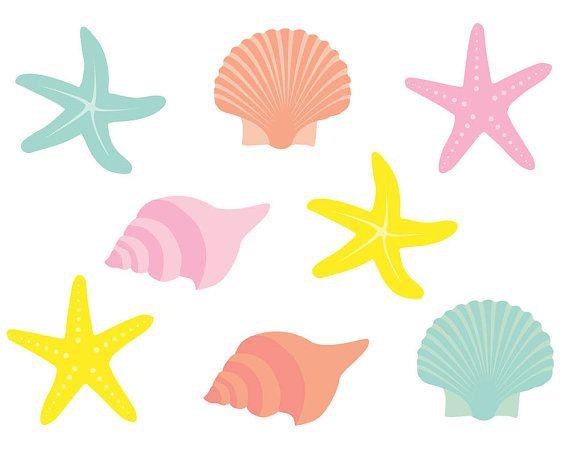570x456 Starfish Clipart Clip Art Shells Clipart Clip By Theclipartpress