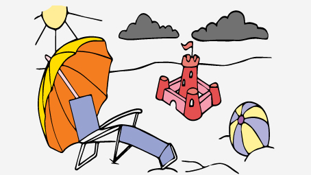 454x255 Beach Coloring Pages 20 Free Printable Sheets To Color