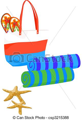 321x470 Beach Towel Clipart