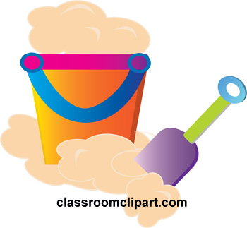 350x323 Seagull On Beach Bucket Clipart
