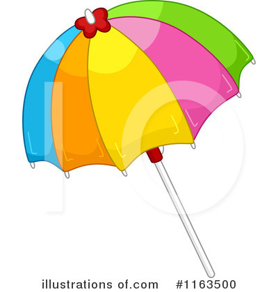 400x420 Beach Umbrella Clipart
