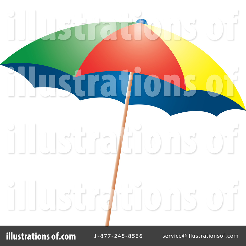 1024x1024 Beach Umbrella Clipart