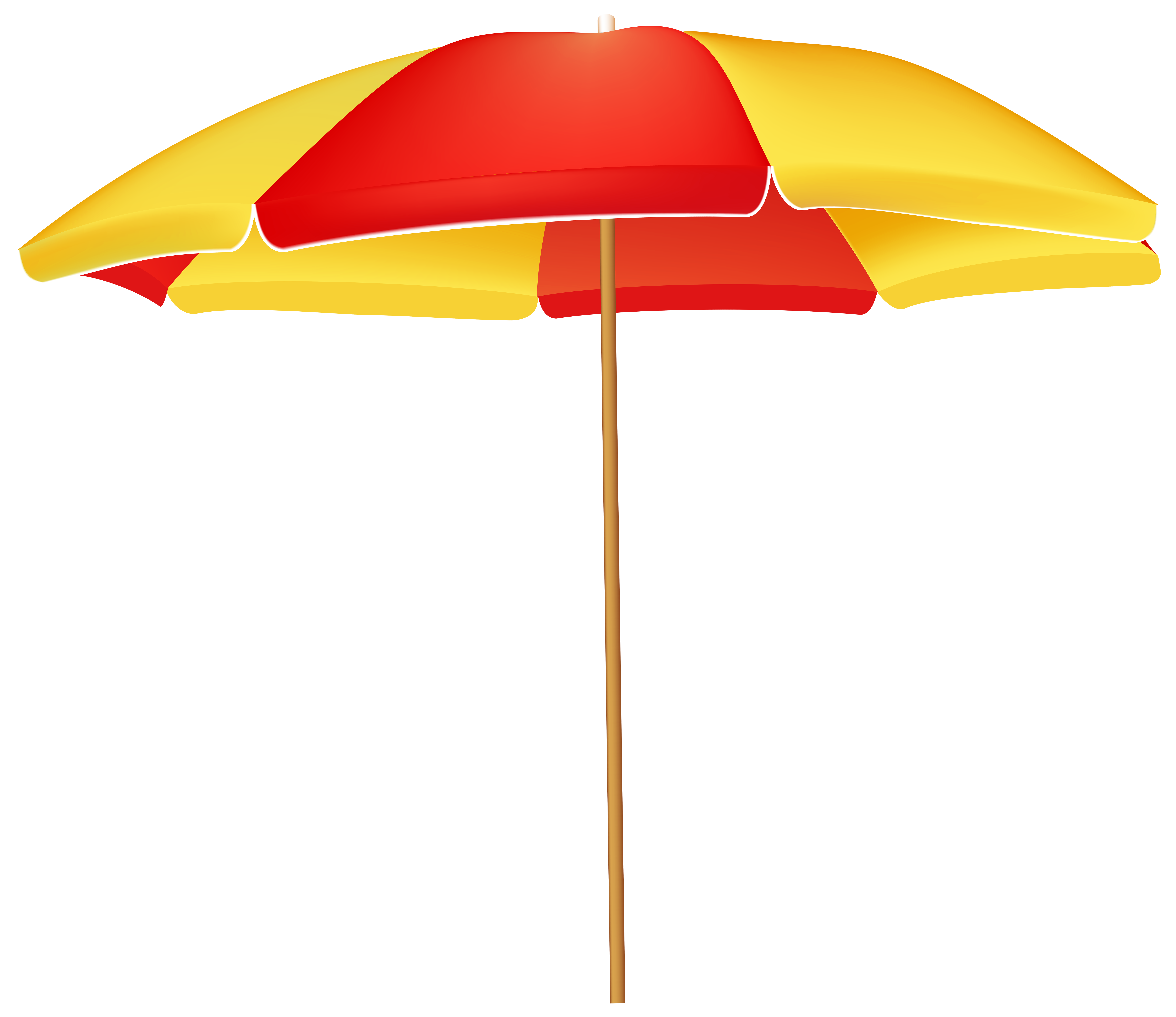 8000x6920 Beach Umbrella Png Clip Art