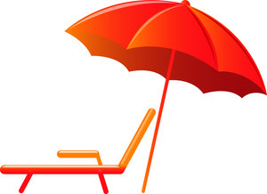 300x218 Clip Art Umbrella Colorful Umbrella Top View Royalty Free Vector