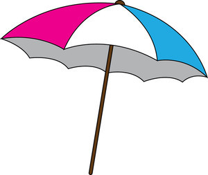300x253 Free Clip Art Umbrella Free Beach Umbrella Clipart Image 0515 1011