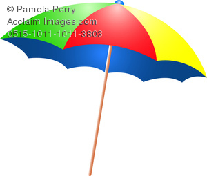 300x255 Shade Umbrella Clipart