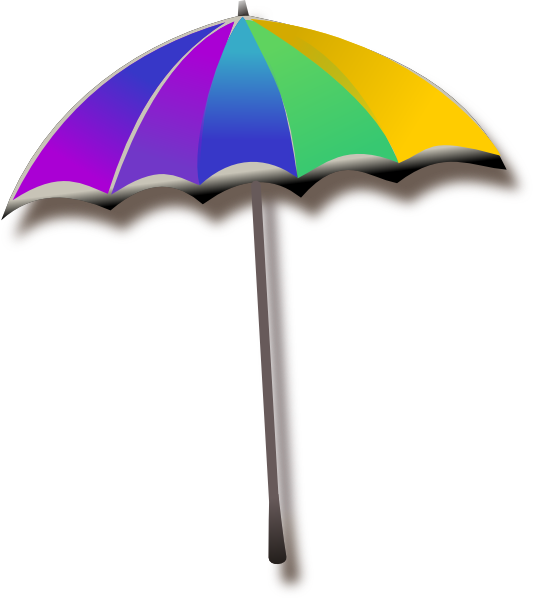 534x598 Umbrella Clip Art
