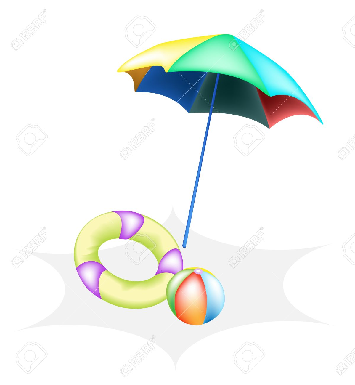 1199x1300 Umbrella Beach Ball Clipart, Explore Pictures