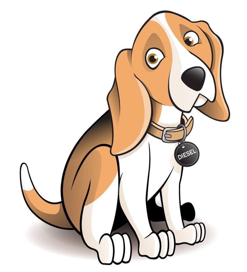 851x938 Dog Clipart Beagle Dog Cartoon By ~timmcfarlin
