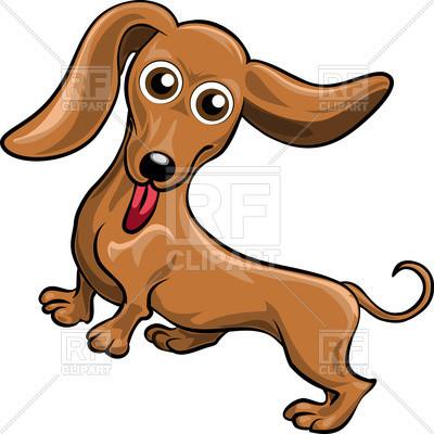 400x400 Awesome Beagle Clipart Funnycartoon Dog Dachshund Royalty Free