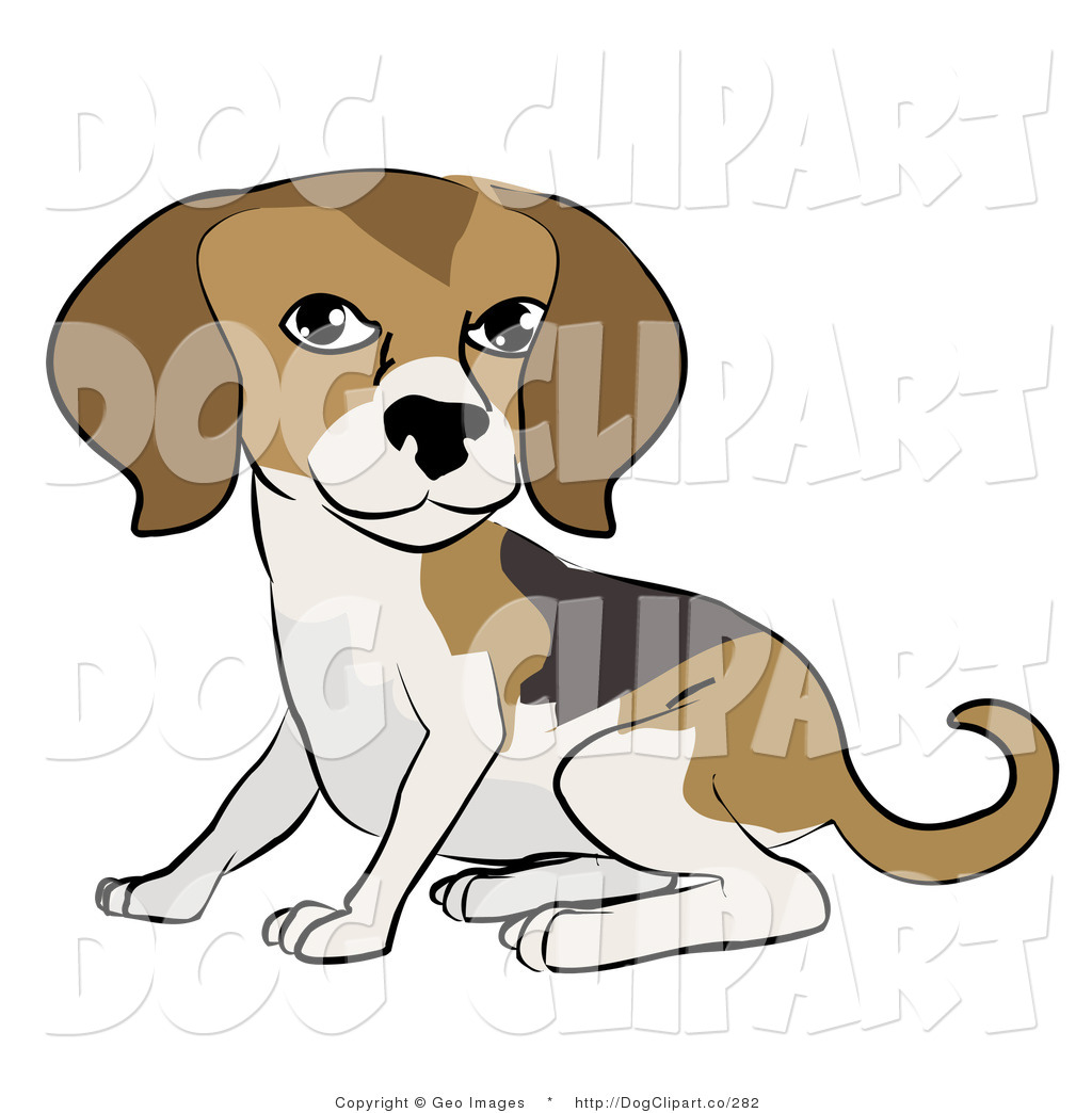 1024x1044 Beagle Clipart Dog Sitting