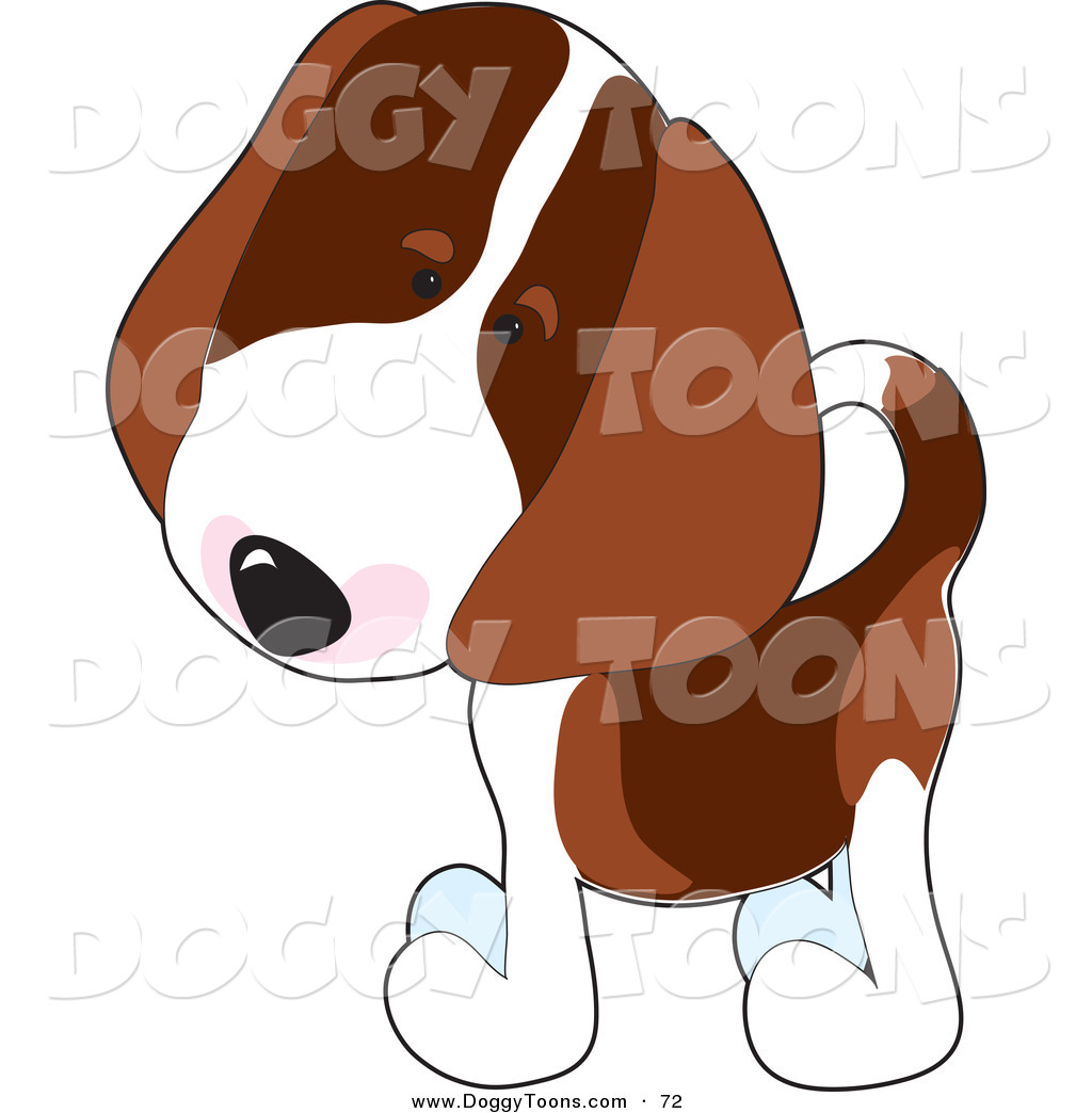 1024x1044 Doggy Clipart Of A Curious Little Beagle Puppy Dog Tilting His