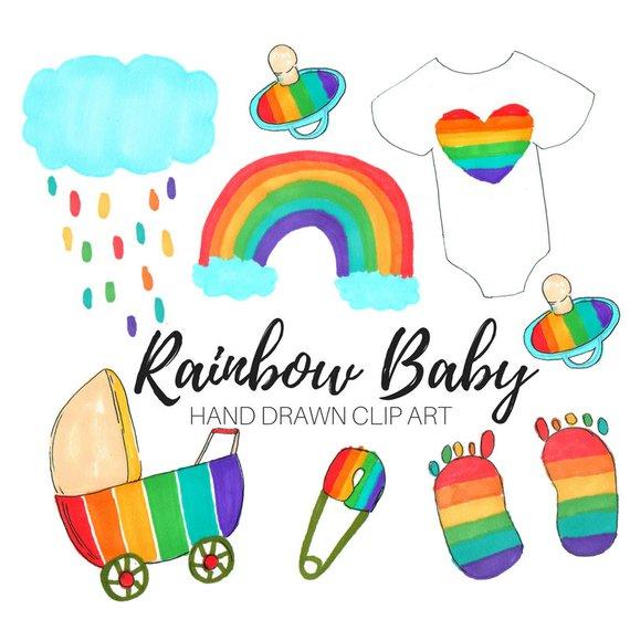 570x570 Baby Shower Clip Art Rainbow Baby Clip Art Baby Clip Art