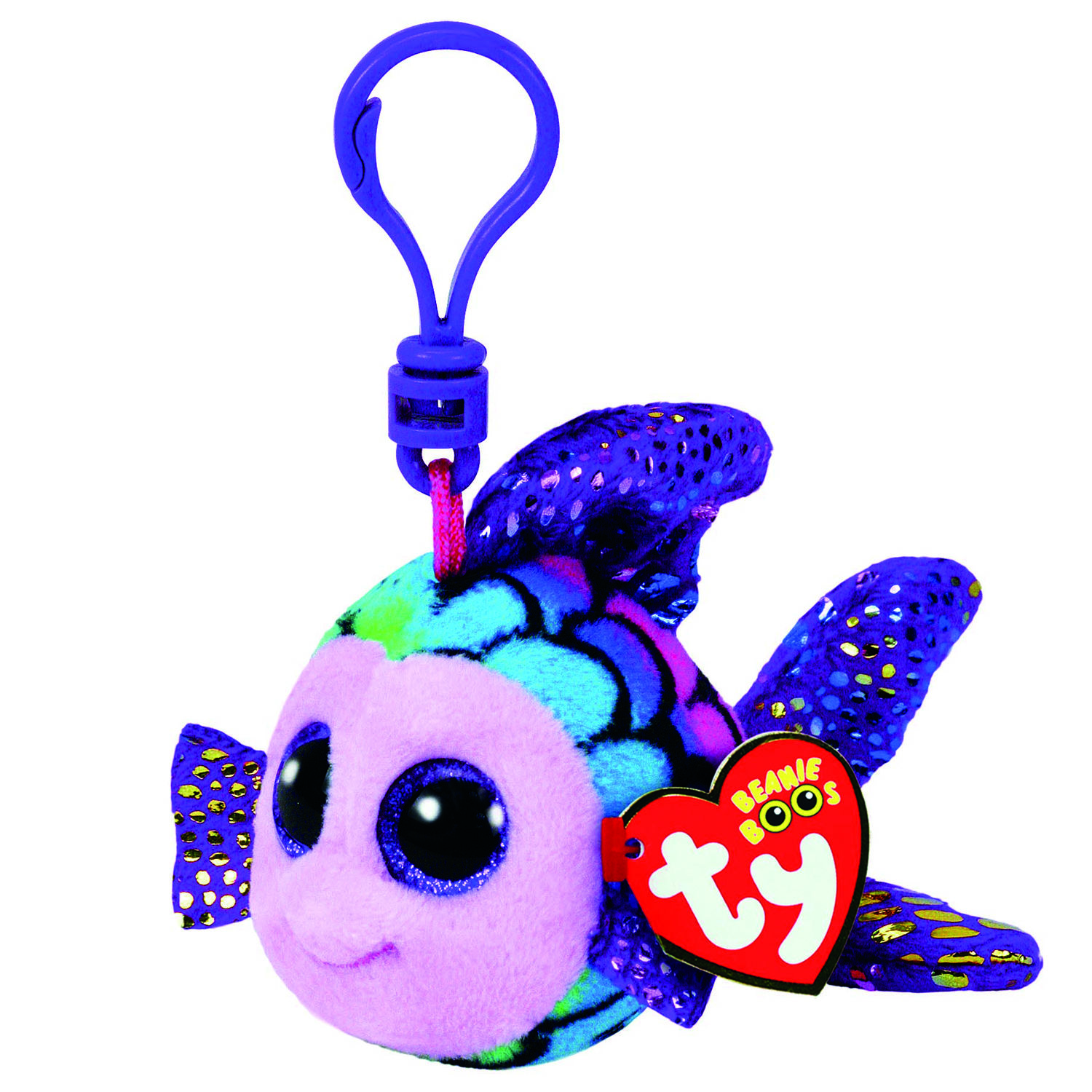 1500x1500 Ty Beanie Boo Flippy The Fish Keyring Clip Claire's Us