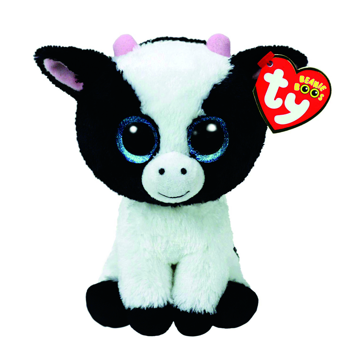 1500x1500 Ty Beanie Boo Small Butter The Cow Soft Toy Claire'S