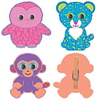 308x320 Darice, Ty Beanie Boo Mini Group Kits, Tinsel Pom