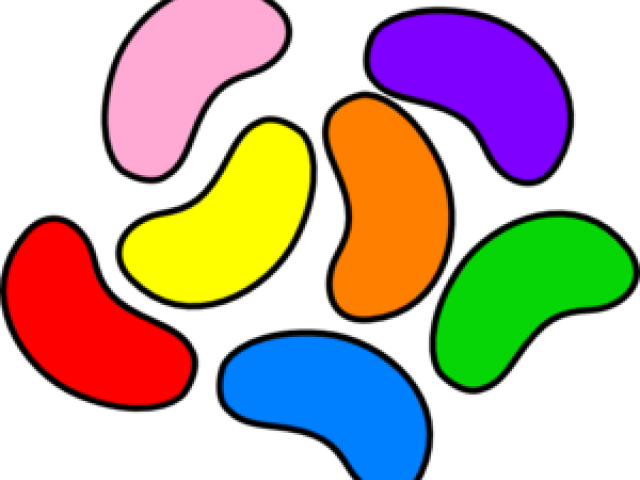 640x480 Jelly Beans Clipart Color