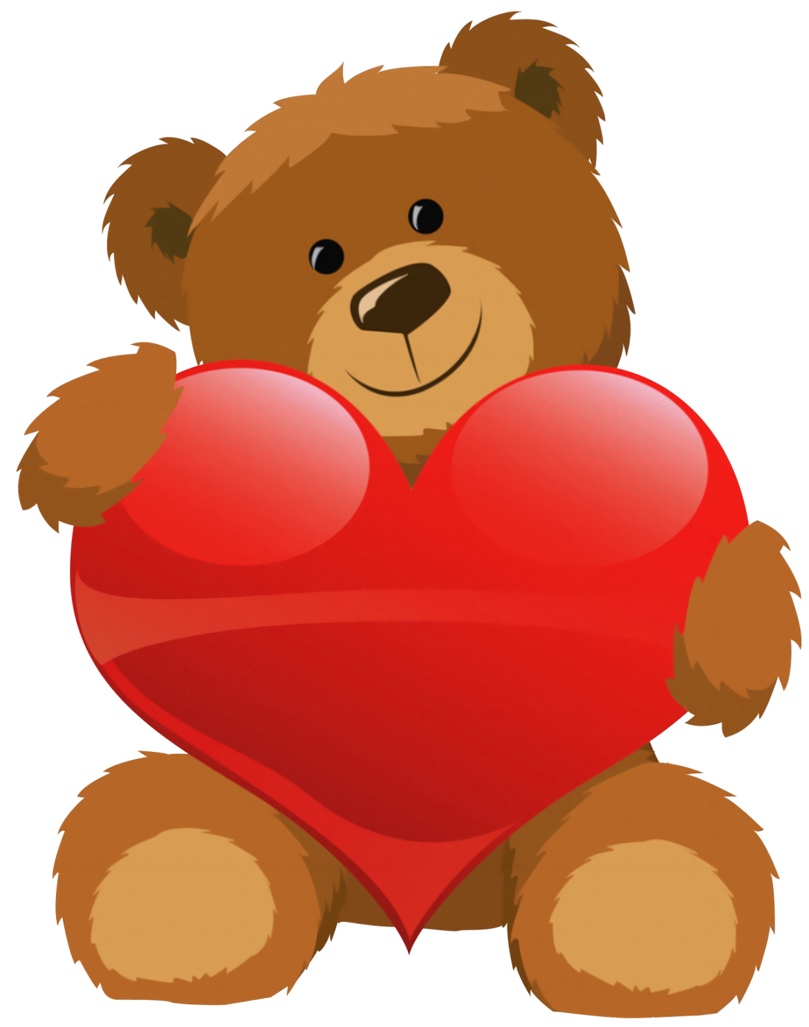 1170x1486 Cute Grizzly Bear Clipart Cute Bear With Heart Png Clipart Picture