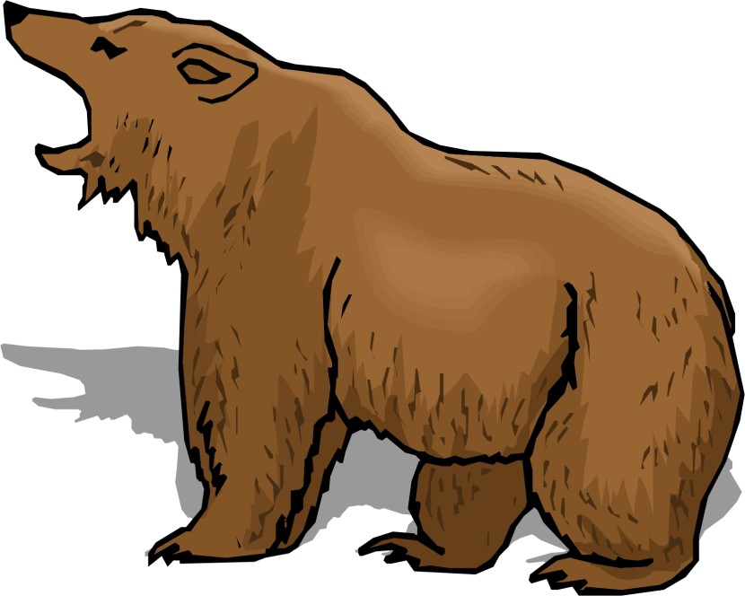 830x664 Angry Bear Clipart