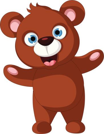366x469 Bear Cub Clip Art Clipart