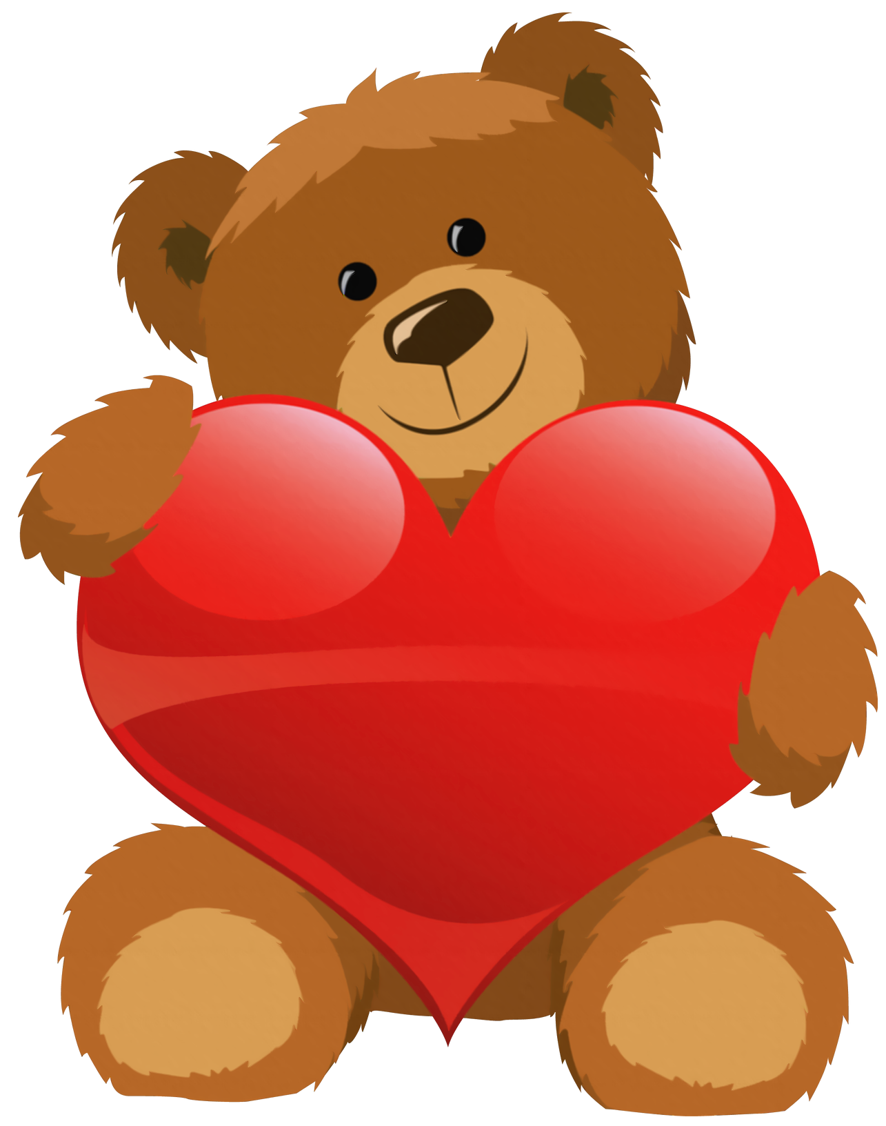 1285x1632 Cute Bear With Heart Png Clipart Pictureu200b Gallery Yopriceville