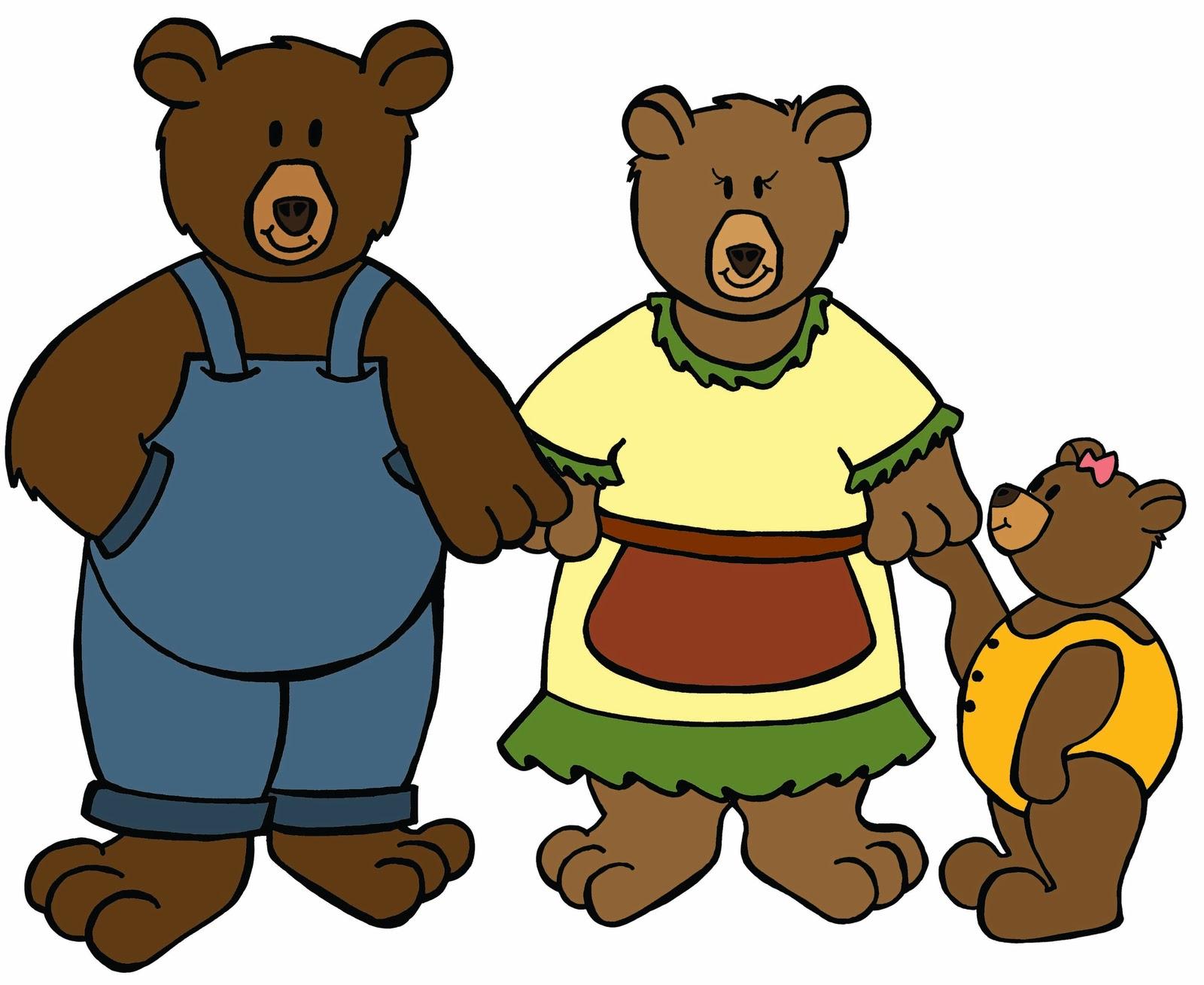 1600x1308 Goldilocks And The Three Bears Clipart Group