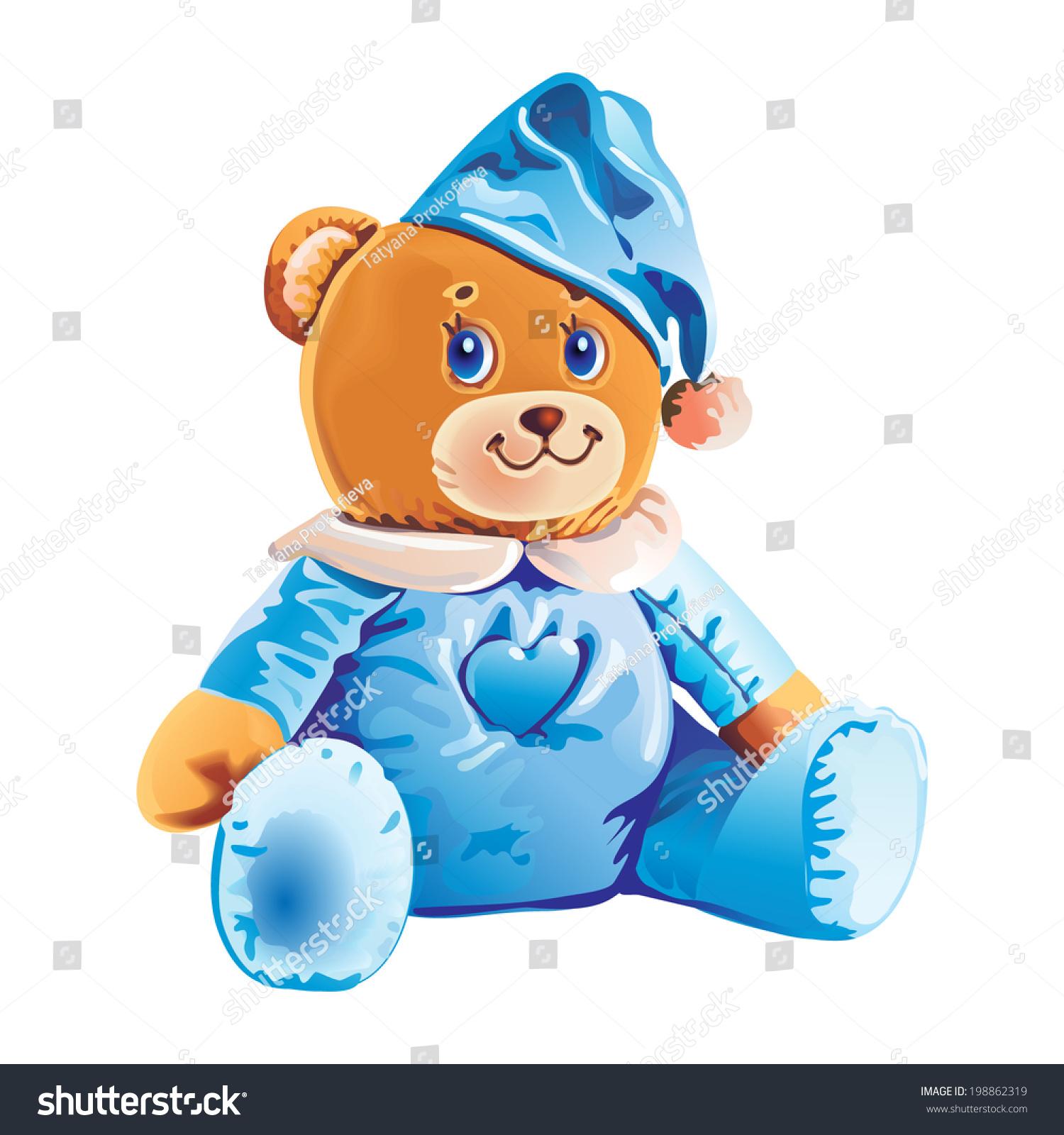 1500x1600 Teddy Clipart Children'S