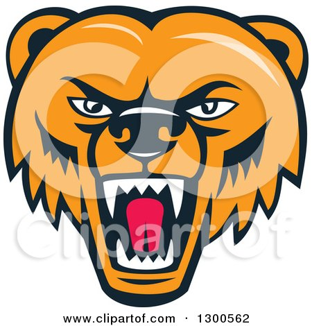 450x470 Royalty Free (Rf) Grizzly Bear Clipart, Illustrations, Vector