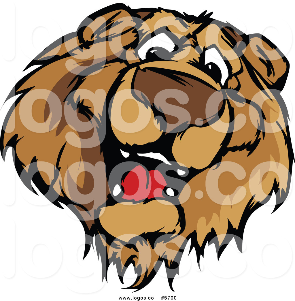 1024x1044 Royalty Free Vector Of A Logo Of A Friendly Bear Face By Chromaco