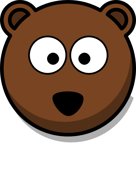 462x592 Cartoon Bear Face Cartoon Bear Head Clipart Clip Art For Students