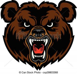 300x289 Bear Face Clipart Bear Angry Face Clip Art Vector Search Drawings