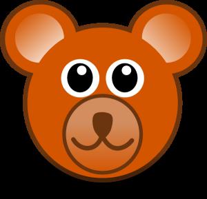 300x289 Bear Face Clipart Teddy Bear Face Clip Art